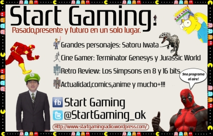 Startgamingradio 9no programa
